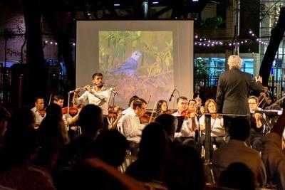 La OSCA ofrecerá su tercer concierto al aire libre en la Plaza Uruguaya