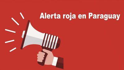 Alerta roja en Paraguay