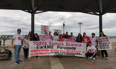 """""""Curame Paraguay, Todos somos Bianca"""", Campaña que pide ayuda a ciudadanía para salvar a niña que necesita costoso tratamiento"""