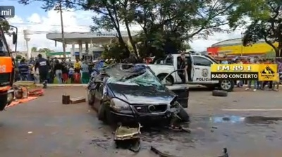 Fatal accidente en CDE