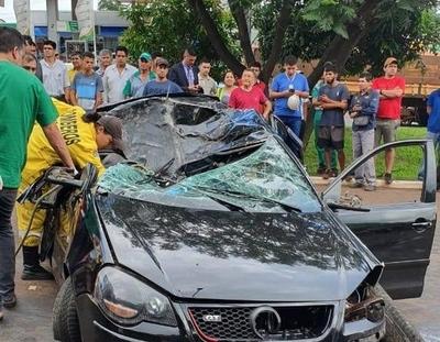 HOY / Terrible accidente se cobra una vida en CDE
