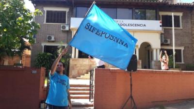 Funcionarios del Ministerio de la Niñez irán a huelga