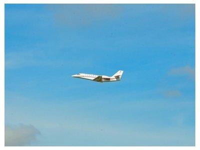 ¿Cómo es el nuevo jet presidencial estrenado por Mario Abdo?