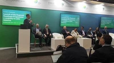 Paraguay presentó oficialmente programa para electromovilidad en Cumbre Mundial