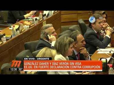 EE.UU. prohíbe entrada a Óscar González Daher y Javier Díaz Verón