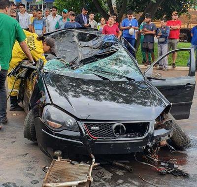 Estudiante brasileño pierde la vida tras accidente en Alto Paraná