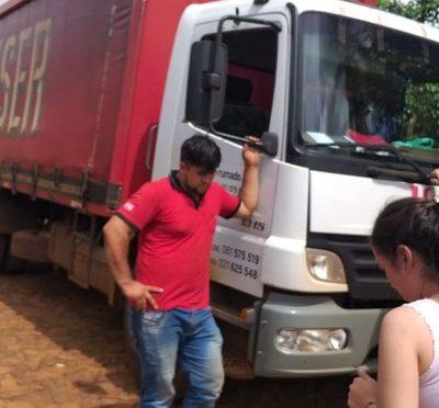 Asaltan camión repartidor de bebidas en Minga Guazú