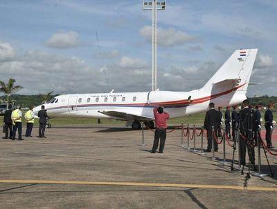 Luego de dos décadas, Paraguay vuelve a tener avión presidencial