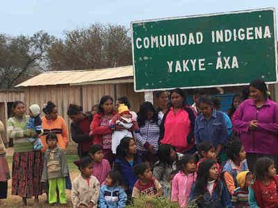 Promulgan ley de expropiación para camino a tierras ancestrales de la comunidad Yakye Axa