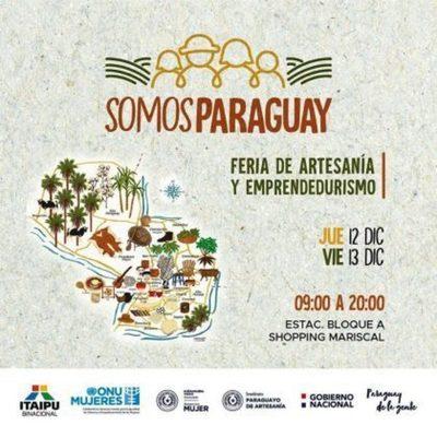 """Feria de artesanía """"Somos Paraguay"""" será este jueves y viernes"""