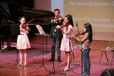 """Invitan a la clausura del conservatorio de Música """"Don Mauricio Cardozo Ocampo"""""""