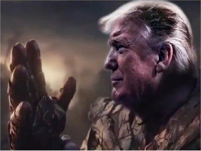Creador de Thanos, muy enfadado con Trump por un vídeo electoral