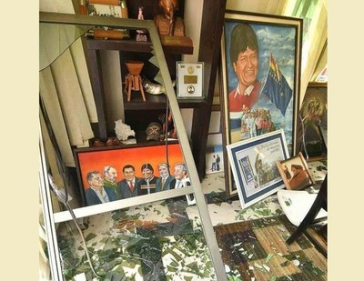 Evo Morales denuncia el allanamiento de su casa en La Paz