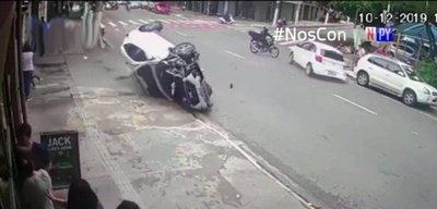 ¡De película! Así fue una persecución entre delincuentes y Policía en Brasil