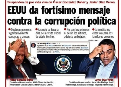 Ministro Anticorrupción opina sobre decisión de EEUU contra OGD y Díaz Verón