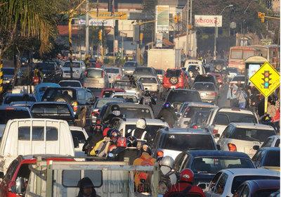 Invertirán USD 10 millones para mejorar el tránsito asunceno