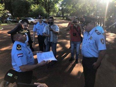 Distinción para policía que mató a motochorro en Presidente Franco