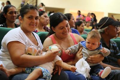 Mediante Tekoporã más niños y niñas accedieron a servicios de salud este año