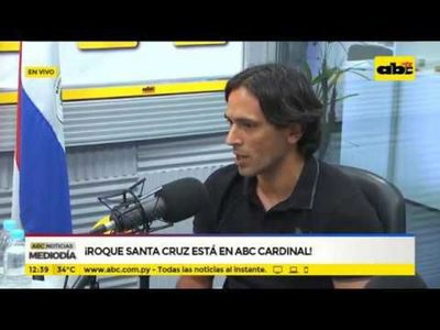 Roque Santa Cruz está en ABC Cardinal