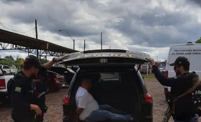 """HOY / Desactivan una """"bomba humana"""" de cárcel de Pedro Juan: expulsan a un jefe narco"""