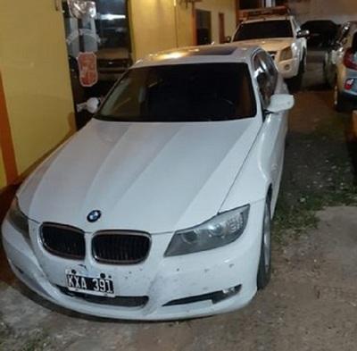 Recuperan auto robado a turista argentino en Encarnación