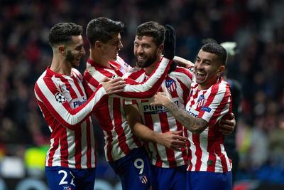 Atlético Madrid no falla y se mete a los octavos de final
