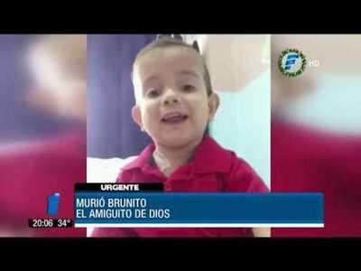 Ricardo Montaner se despide de Brunito