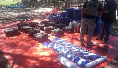 Operativo Tijera: Se incautan de 478 kilos de cocaína en el Chaco