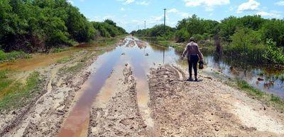 En Alto Paraguay, otra vez las aguas toman caminos