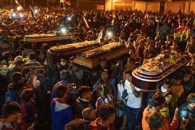 CIDH pide investigar los 36 asesinatos en Bolivia