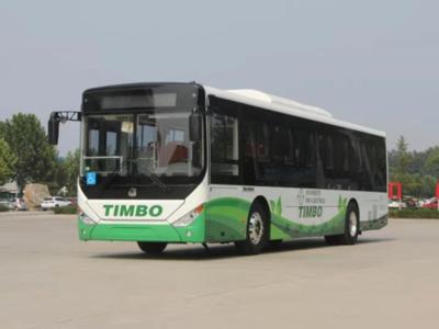 Bus eléctrico realiza su primer viaje oficial