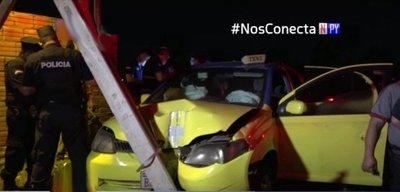 Asesinan a taxista en Luque