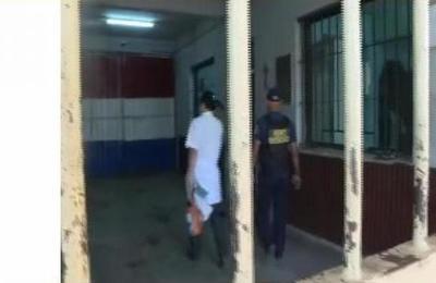 Guadiacárcel de Tacumbú con droga