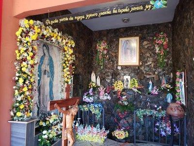 Devotos de la Virgen de Guadalupe están de fiesta