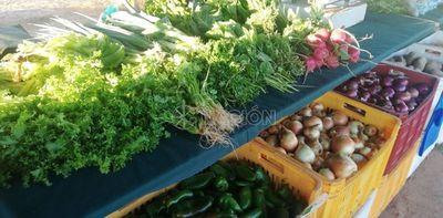 Feria Granjera ofrece productos frescos para fiestas de fin de año