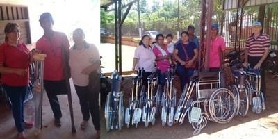 MEJORAN MOVILIDAD DE PERSONAS CON DISCAPACIDAD EN ITAPÚA