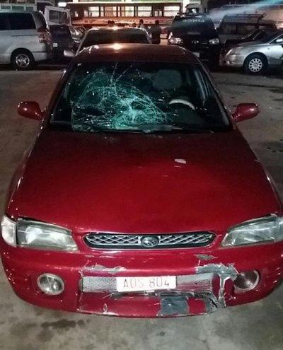 Fatal accidente de tránsito en Capiatá