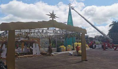 Suspenden inauguración del circuito navideño en el Anfiteatro