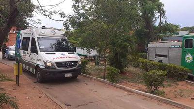 Hospital General de San Lorenzo quedó sin energía eléctrica tras caída de árbol