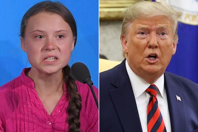 """Trump califica de """"ridícula"""" distinción a Greta Thunberg como persona del año"""