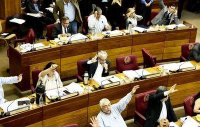 """Los senadores se oponen al control del """"dinero sucio"""" en sus partidos"""