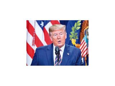 """Trump augura llegar a un """"gran acuerdo"""" entre EEUU y  China"""