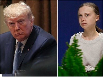 "Donald Trump califica de ""ridícula"" distinción a Greta Thunberg"