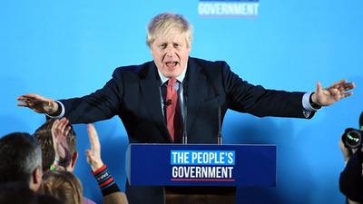 """Boris Jonhson consigue la mayoría absoluta para sacar adelante el """"brexit"""""""