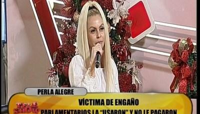 """Perla Alegre dio detalles sobre """"fiestita"""" con políticos"""