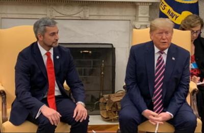 Abdo Benítez y Trump acuerdan profundizar relación entre países