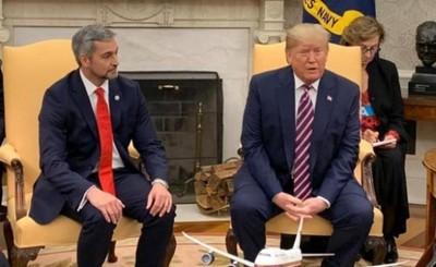Culmina encuentro entre Marito y Donald Trump