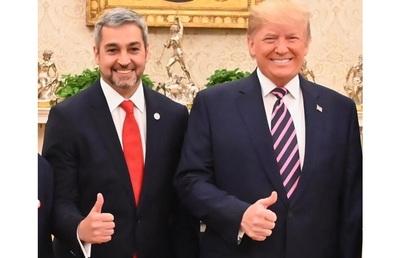 Trump recibió a Abdo Benítez con Venezuela y Bolivia como temas de interés