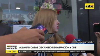 Allanan casa de cambios en Asunción y CDE