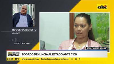 Bogado denuncia al estado ante CIDH